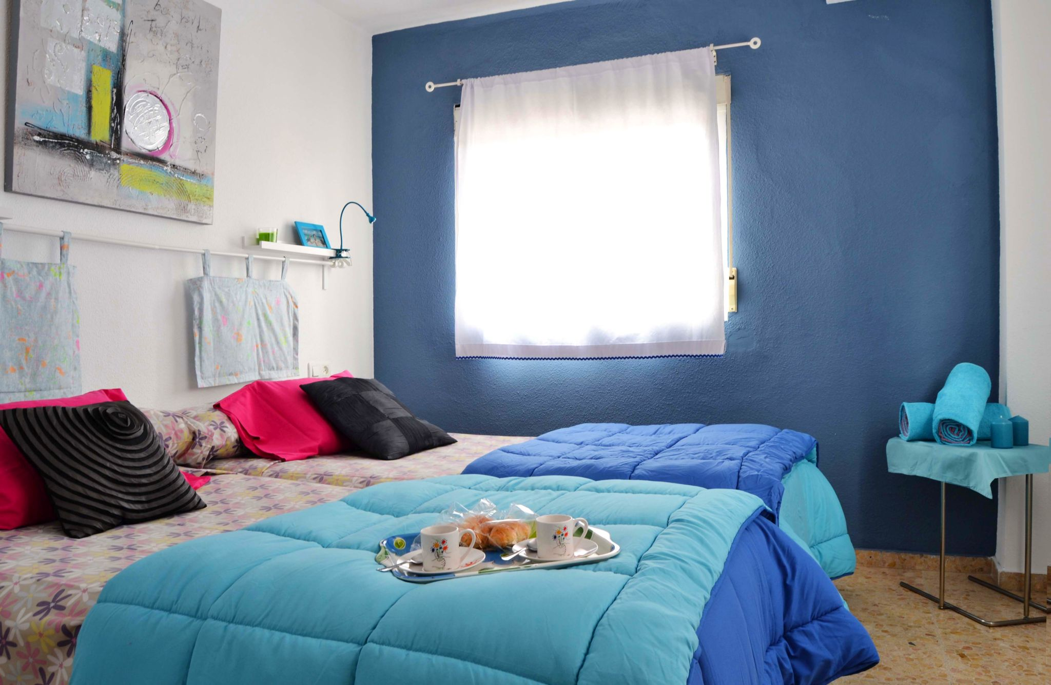 Apartamento superior de un dormitorio en Apartamentos Marqués de Guadiaro 1 en Málaga